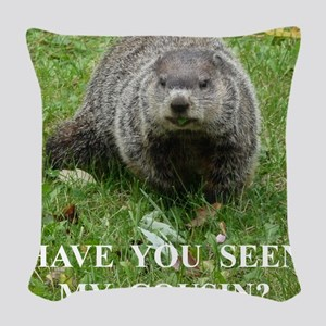 GrdHog1010c Woven Throw Pillow