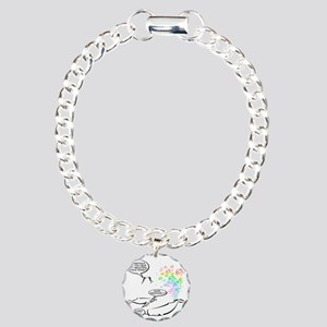 WHALES Charm Bracelet, One Charm