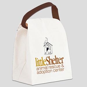 Logo2 Canvas Lunch Bag