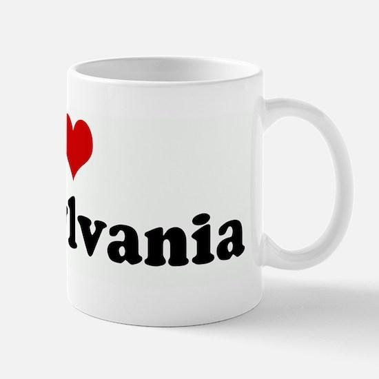 I Love Transylvania Mug