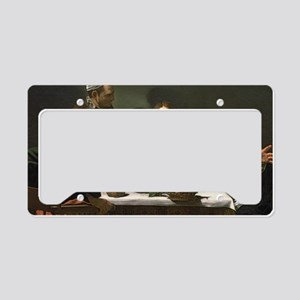 The Supper at Emmaus by Miche License Plate Holder