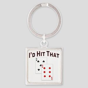 idhitthat Square Keychain