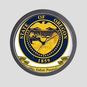 Oregon Seal Wall Clock