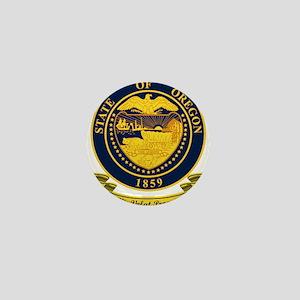 Oregon Seal Mini Button