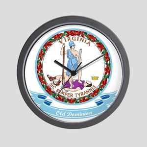 Virginia Seal Wall Clock