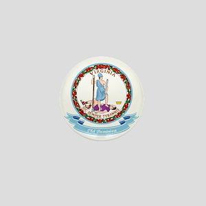 Virginia Seal Mini Button