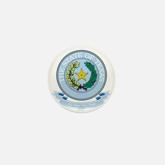 Texas Seal Mini Button