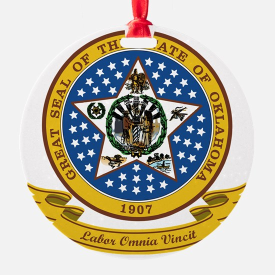 Oklahoma Seal Ornament
