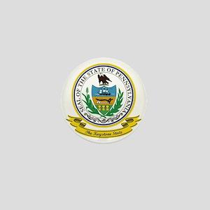 Pennsylvania Seal Mini Button