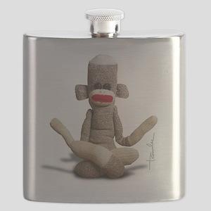 Zen Sock Monkey Flask
