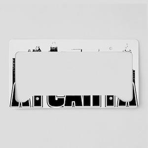 Atlanta Skyline License Plate Holder