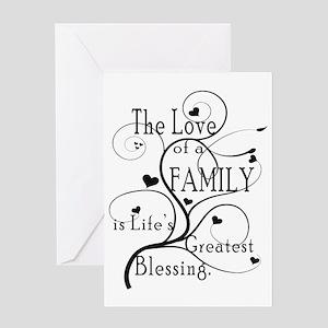 LoveOfFamily1 Greeting Card