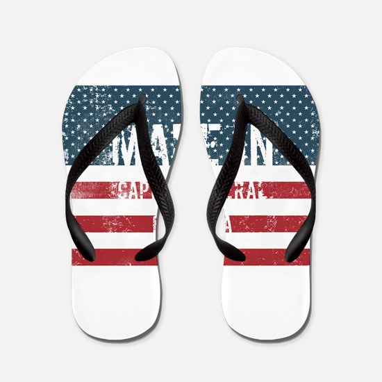 Made in Cape Canaveral, Florida Flip Flops