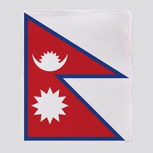 nepal Throw Blanket