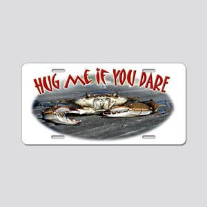 Hugme Aluminum License Plate