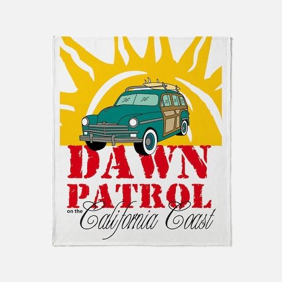 CADawnPatroliPad Throw Blanket