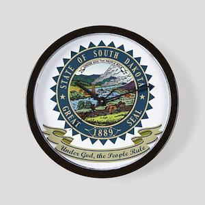 South Dakota Seal Wall Clock