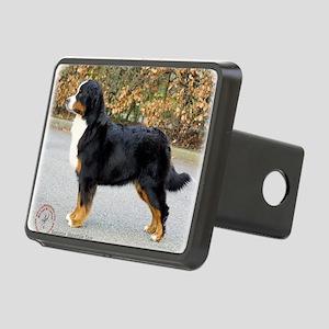 Bernese Mountain Dog 9T066 Rectangular Hitch Cover