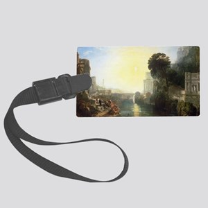 Dido building Carthage by Joseph Large Luggage Tag