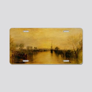 Chichester Canal by Joseph  Aluminum License Plate