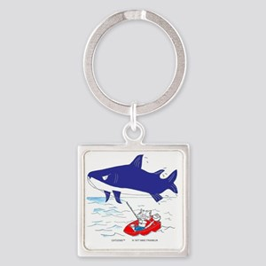 Fisher Cat in Color Best Square Keychain