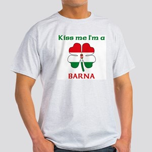 Barna Family Ash Grey T-Shirt