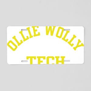Ollie Aluminum License Plate