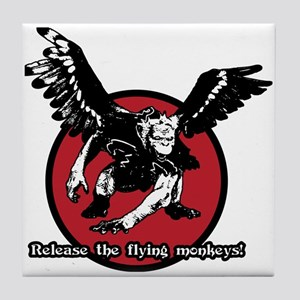 Release The Flying Monkeys Tile Coaster