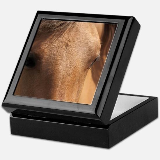 HorseEyesMousepad Keepsake Box