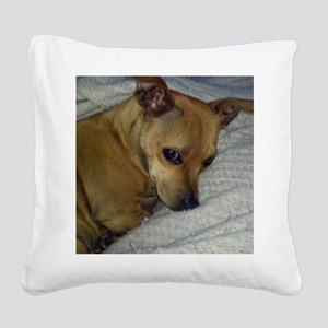 dora2JPEG Square Canvas Pillow