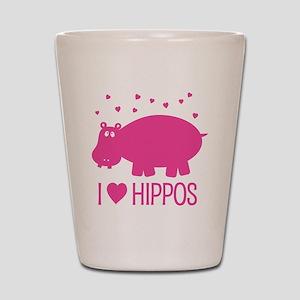 PinkHippo Shot Glass