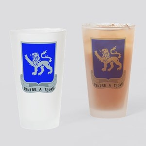 DUI - 68th Armor Regiment Drinking Glass