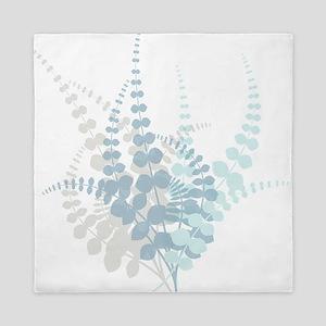 Modern Tropical Floral Queen Duvet
