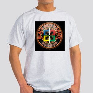 black_belt-on-blk Light T-Shirt