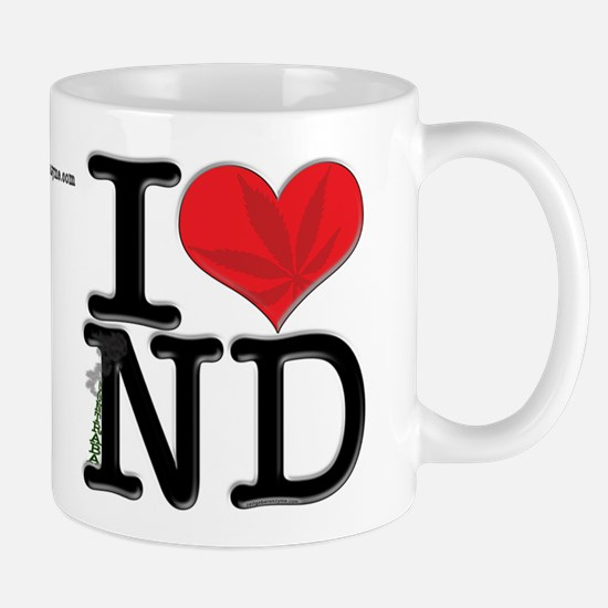 I Love contrabaND Mug