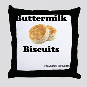 Buttermilk-Biscuits Throw Pillow