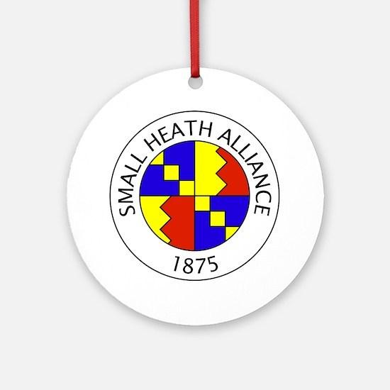 SHA Logo Large Round Ornament