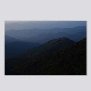 Blue Smokey Mountains Postcards (Package of 8)