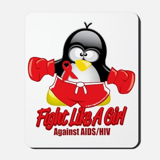 AIDS-Fighting-Penguin Mousepad