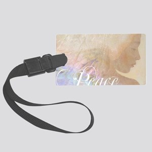 peace angel 2009 water t Large Luggage Tag