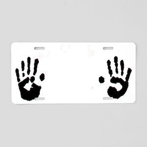 4 Aluminum License Plate