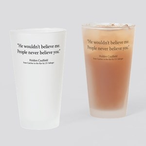 The Catcher in the Rye Ch 5 Drinking Glass