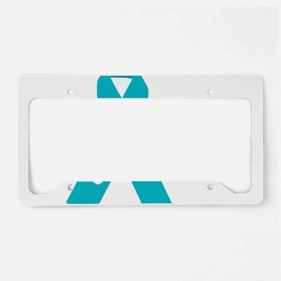 OCD-Hope-blk License Plate Holder
