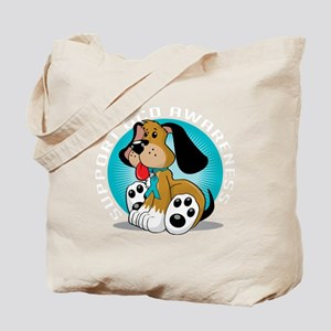 OCD-Dog-blk Tote Bag
