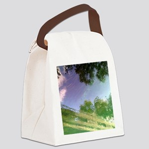 River Reflections Canvas Lunch Bag