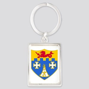 DUI-12 IN RGT Portrait Keychain