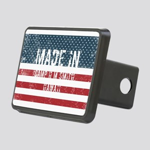 Made in Camp H M Smith, Ha Rectangular Hitch Cover