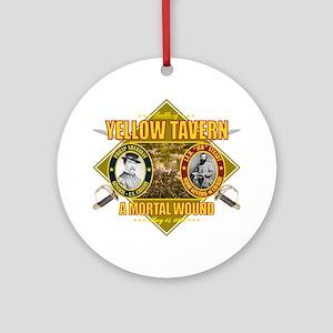 Yellow Tavern (battle)1 Round Ornament