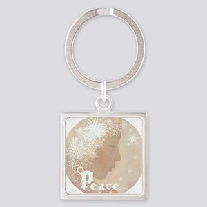 peace water angel rondo b4L Square Keychain