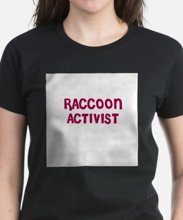 RACCOON ACTIVIST Women's Pink T-Shirt
